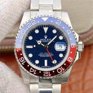 EW Rolex Greenwich GMT-Master II function men's mechanical watch (blue red circle)